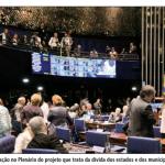 Senado aprova revisão da dívida dos estados
