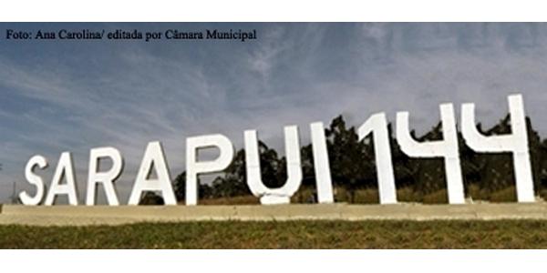 Sarapuí comemora neste mês 144 anos.