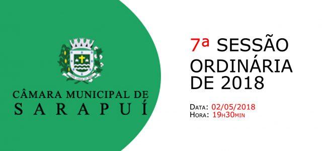 PAUTA DA 7ª SESSÃO ORDINÁRIA DE 2018 Em atenção ao que dispõe o artigo 182 e parágrafo único do Regimento Interno, torna-se pública a Pauta da 7ª Sessão Ordinária do […]