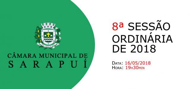PAUTA DA 8ª SESSÃO ORDINÁRIA DE 2018. Em atenção ao que dispõe o artigo 182 e parágrafo único do Regimento Interno, torna-se pública a Pauta da 8ª Sessão Ordinária do […]