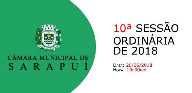 PAUTA DA 10ª SESSÃO ORDINÁRIA DE 2018 Em atenção ao que dispõe o artigo 182 e parágrafo único do Regimento Interno, torna-se pública a Pauta da 10ª Sessão Ordinária do […]