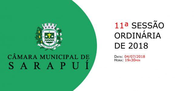 PAUTA DA 11ª SESSÃO ORDINÁRIA DE 2018 Em atenção ao que dispõe o artigo 182 e parágrafo único do Regimento Interno, torna-se pública a Pauta da 11ª Sessão Ordinária do […]
