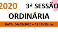PAUTA DA 3ª SESSÃO ORDINÁRIA DE 2020. Em atenção ao que dispõe o artigo 182 e parágrafo único do Regimento Interno, torna-se pública a Pauta da 3ª Sessão Ordinária do […]