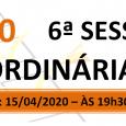 PAUTA DA 6ª SESSÃO ORDINÁRIA DE 2020. Em atenção ao que dispõe o artigo 182 e parágrafo único do Regimento Interno, torna-se pública a Pauta da 6ª Sessão Ordinária do […]