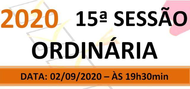 PAUTA DA 15ª SESSÃO ORDINÁRIA DE 2020 Em atenção ao que dispõe o artigo 182 e parágrafo único do Regimento Interno, torna-se pública a Pauta da 15ª Sessão Ordinária do […]