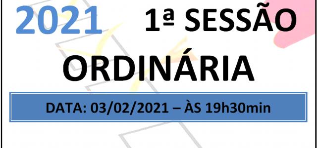 PAUTA DA 1ª SESSÃO ORDINÁRIA DE 2021 Em atenção ao que dispõe o artigo 182 e parágrafo único do Regimento Interno, torna-se pública a Pauta da 1ª Sessão Ordinária do […]