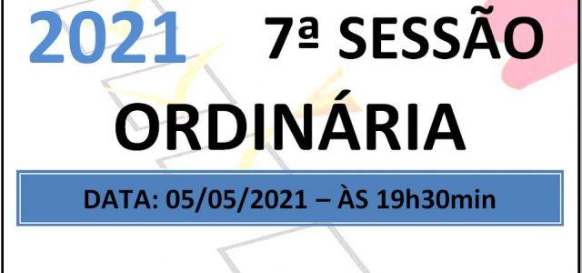PAUTA DA 7ª SESSÃO ORDINÁRIA DE 2021 Em atenção ao que dispõe o artigo 182 e parágrafo único do Regimento Interno, torna-se pública a Pauta da 7ª Sessão Ordinária do […]